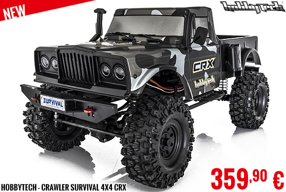 New - HobbyTech - Crawler Survival 4x4 CRX