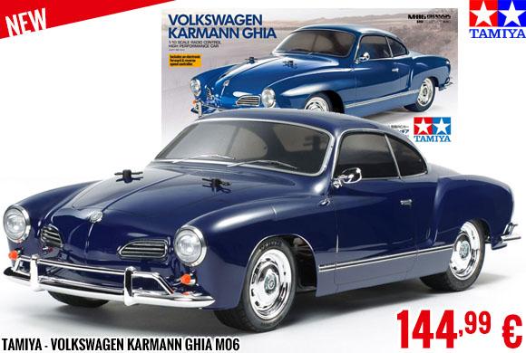 New - Tamiya - Volkswagen Karmann Ghia M06