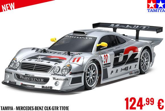 New - Tamiya - Mercedes-Benz CLK-GTR TT01E