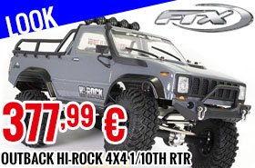 Look - FTX - Outback Hi-Rock 4x4 1/10th RTR Trail Crawler