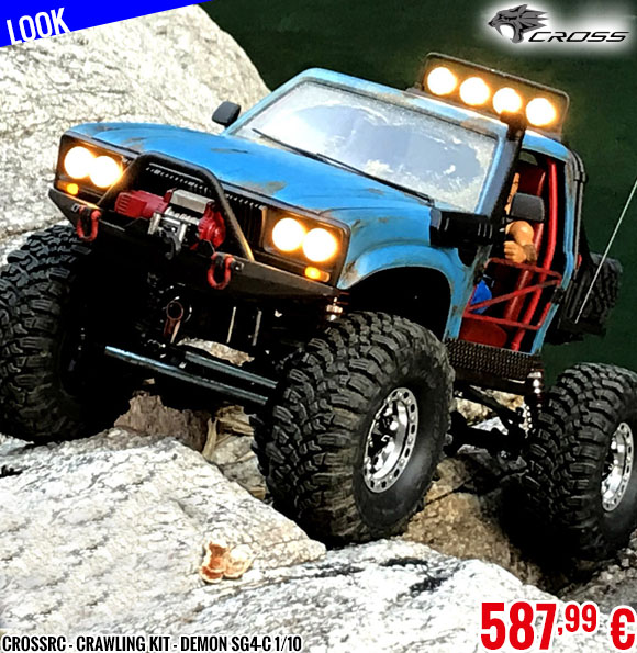 New - CrossRC - Crawling kit - Demon SG4-C 1/10