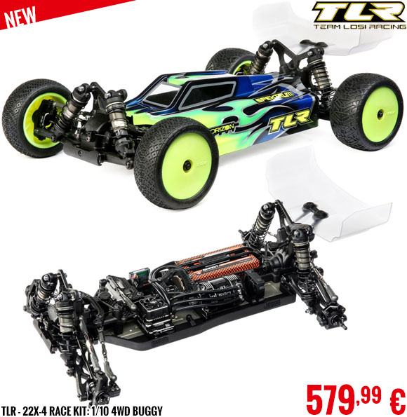 New - TLR - 22X-4 Race Kit: 1/10 4WD Buggy