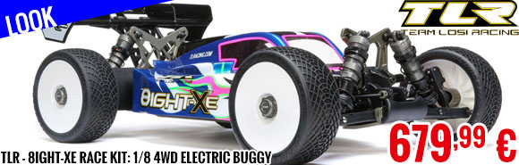 Look - TLR - 8IGHT-XE Race Kit: 1/8 4WD Electric Buggy