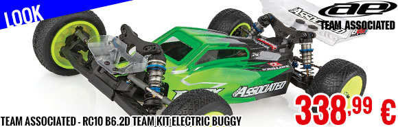 Look - Team Associated - RC10 B6.2D Team Kit Electric Buggy