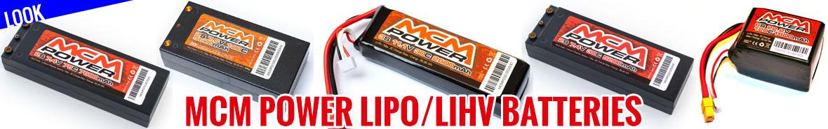 Look - MCM Power LiPo / LiHV Batteries