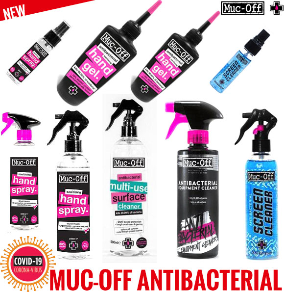 New - Muc-Off Antibacterial