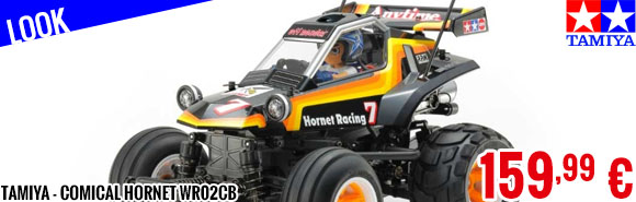 Look - Tamiya - Comical Hornet WR02CB