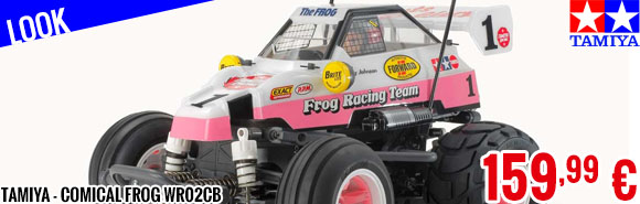 Look - Tamiya - Comical Frog WR02CB