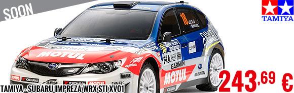 Soon - Tamiya - Subaru Impreza WRX STi XV01