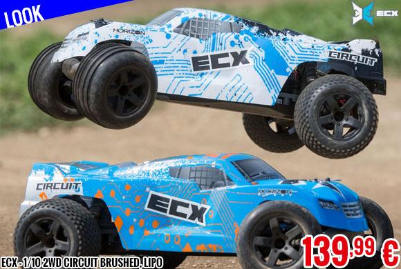 Look - ECX - 1/10 2wd Circuit Brushed, Lipo