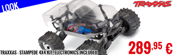 Look - Traxxas - Stampede 4x4 KIT, electronics included