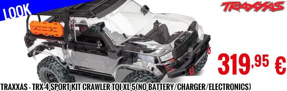 Look - Traxxas - TRX-4 sport KIT crawler TQi XL-5(No battery/charger/electronics)
