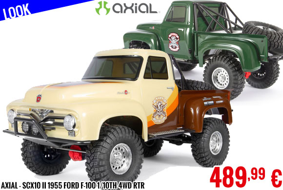 Look - Axial - SCX10 II 1955 Ford F-100 1/10th 4wd RTR