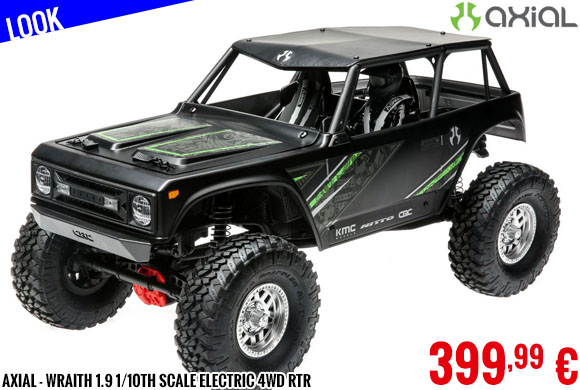 Look - Axial - Wraith 1.9 1/10th Scale Electric 4wd RTR