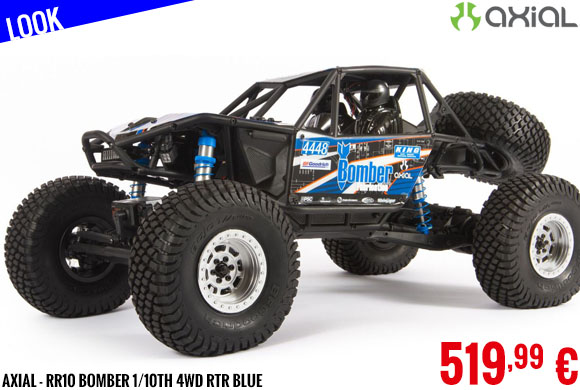 Look - Axial - RR10 Bomber 1/10th 4wd RTR Blue