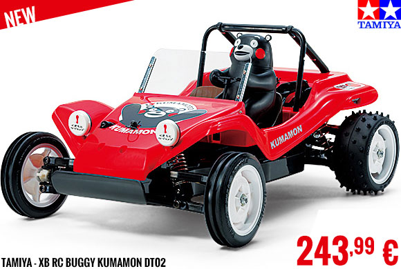 New - Tamiya - XB RC Buggy Kumamon DT02