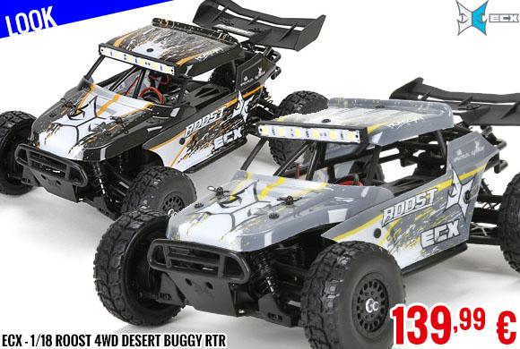 Look - ECX - 1/18 Roost 4WD Desert Buggy RTR