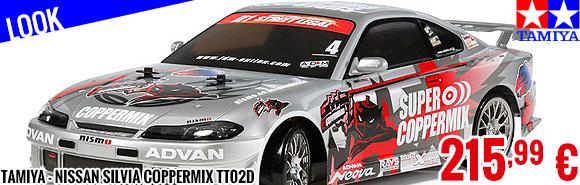 Look - Tamiya - Nissan Silvia Coppermix TT02D