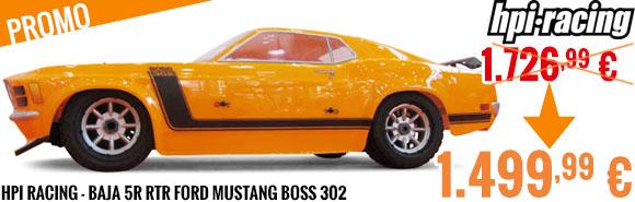 Promo - HPI Racing - Baja 5R RTR Ford Mustang Boss 302