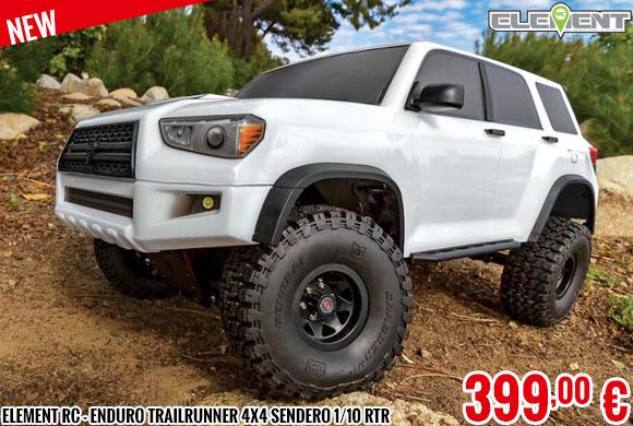 New - Element RC - Enduro Trailrunner 4x4 Sendero 1/10 RTR