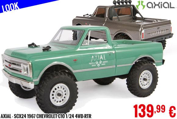 Look - Axial - SCX24 1967 Chevrolet C10 1/24 4WD-RTR