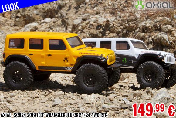 Look - Axial - SCX24 2019 Jeep Wrangler JLU CRC 1/24 4WD-RTR