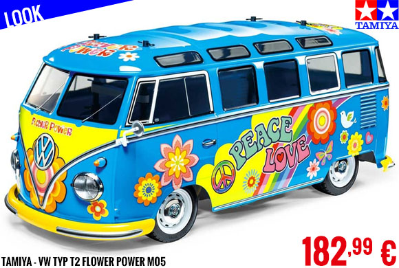 Look - Tamiya - VW Typ T2 Flower Power M05