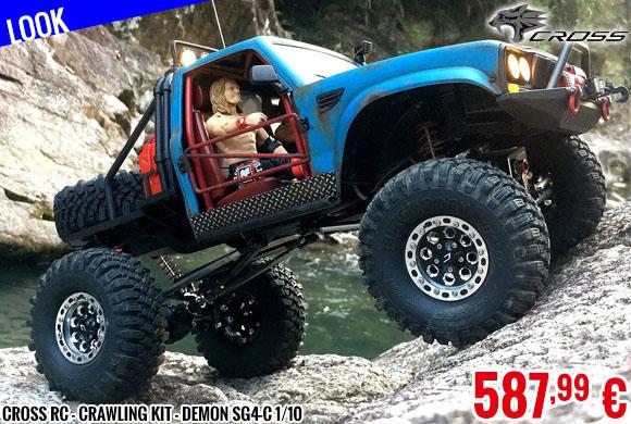 Look - Cross RC - Crawling kit - Demon SG4-C 1/10