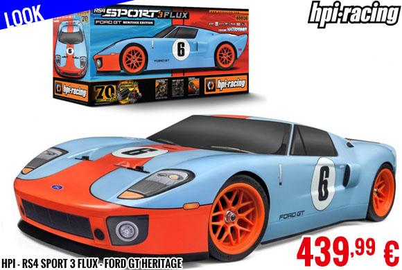 Look - HPI - RS4 Sport 3 Flux - Ford GT Heritage