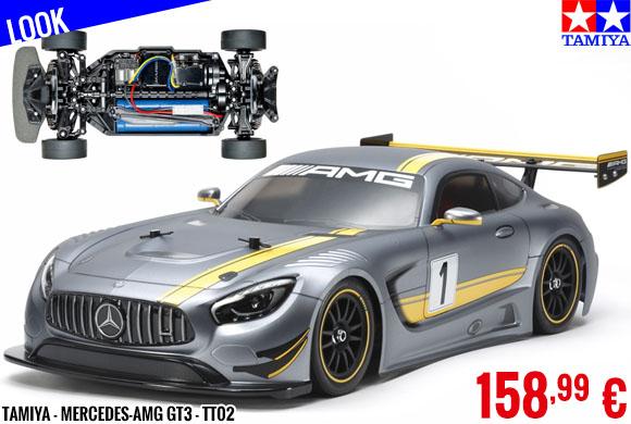 Look - Tamiya - Mercedes-AMG GT3 - TT02