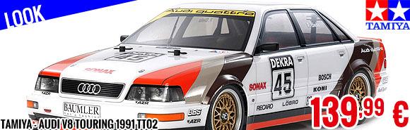Look - Tamiya - Audi V8 Touring 1991 TT02