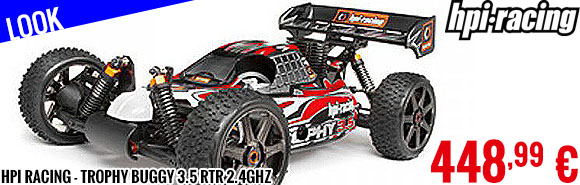 Look - HPI Racing - Trophy Buggy 3.5 RTR 2.4GHZ
