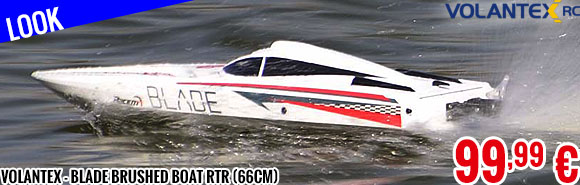 Look - Volantex - Blade Brushed Boat RTR (66cm)