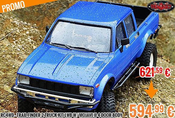 Promo - RC4WD - Trail Finder 2 Truck Kit LWB w/ Mojave II 4-Door Body Set