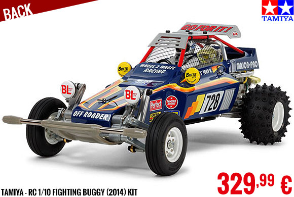 Back - Tamiya - RC 1/10 Fighting Buggy (2014) kit