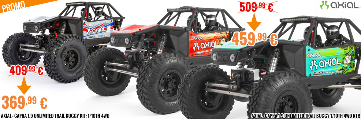 Promo - Axial - Capra 1.9 Unlimited Trail Buggy
