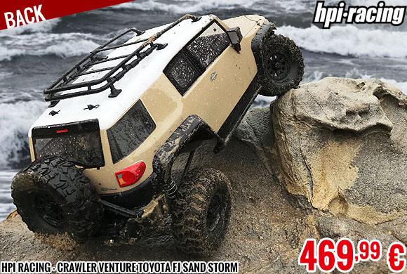 back - HPI Racing - Crawler Venture Toyota FJ Sand Storm