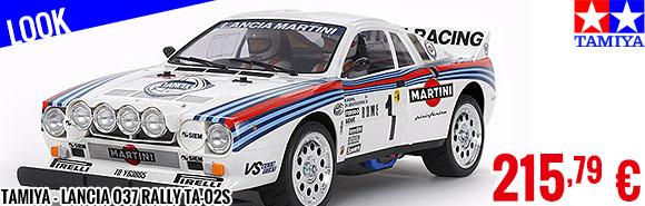 Look - Tamiya - Lancia 037 Rally TA-02S