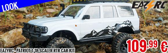 Look - EazyRC - Patriot 1/18 Scaler RTR car kit
