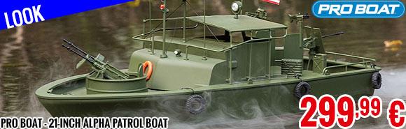 Look - Pro Boat - 21-inch Alpha Patrol Boat