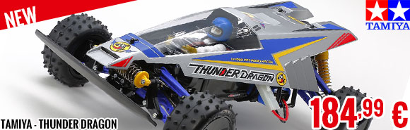 New - Tamiya - Thunder Dragon