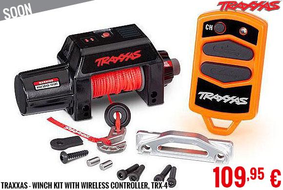 Soon - Traxxas - Winch kit with wireless controller, TRX-4