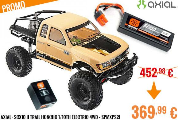 Promo - Axial - SCX10 II Trail Honcho 1/10th Electric 4WD + SPMXPS2I