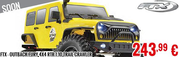Soon - FTX - Outback Fury 4X4 RTR 1:10 Trail Crawler