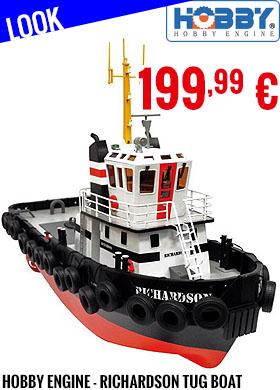Look - Hobby Engine - Richardson Tug Boat Premium Label 2.4 GHz