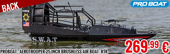 Back - ProBoat - Aerotrooper 25-inch Brushless Air Boat: RTR