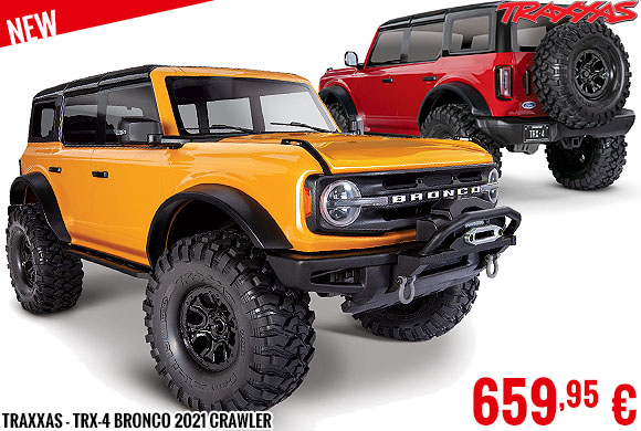New - Traxxas - TRX-4 Bronco 2021 Crawler