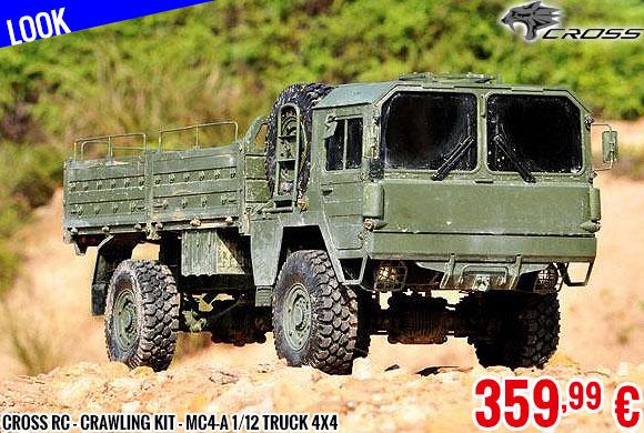 Look - Cross RC - Crawling kit - MC4-A 1/12 Truck 4X4