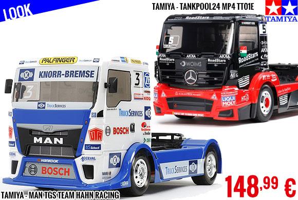Look - Race Trucks Tamiya