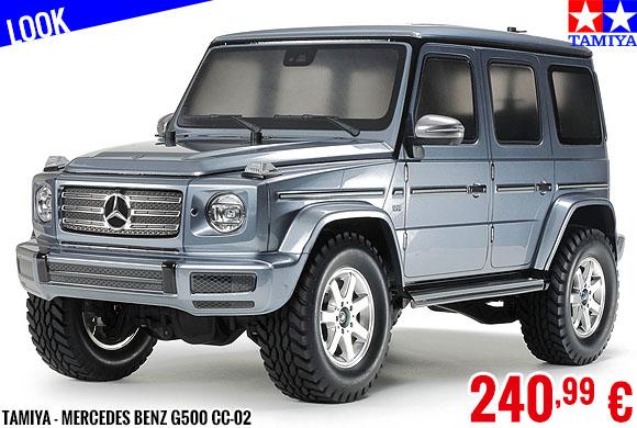 Look - Tamiya - Mercedes Benz G500 CC-02